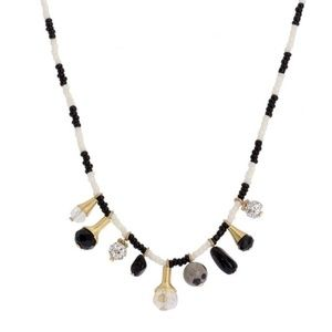 SAACHI One of Kind Beaded Necklace